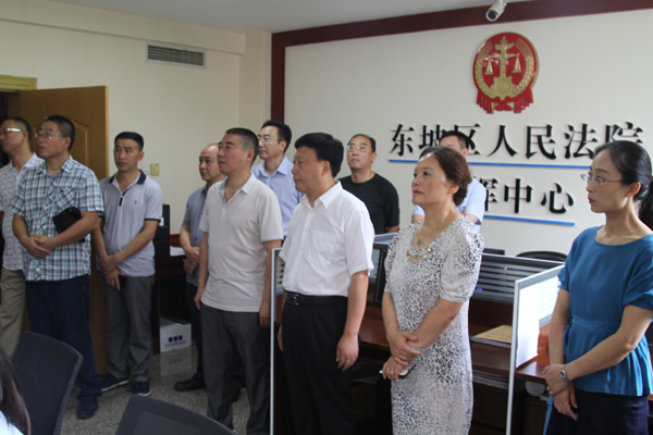 东坡区人大常委会听取区法院2017上半年工作汇报