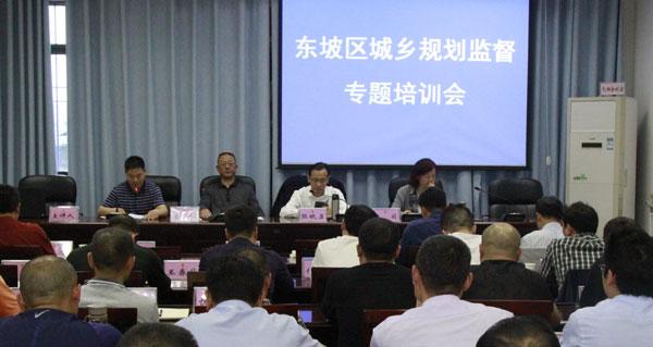 东坡区组织城乡规划监督专题培训